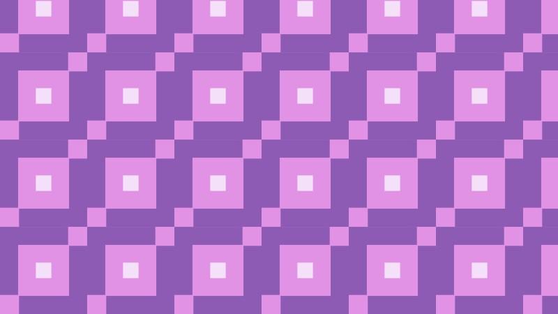 Purple Square Pattern Background Vector Illustration