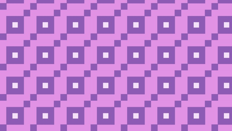 Lilac Square Background Pattern Vector
