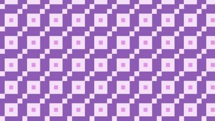 Purple Geometric Square Pattern Vector Art