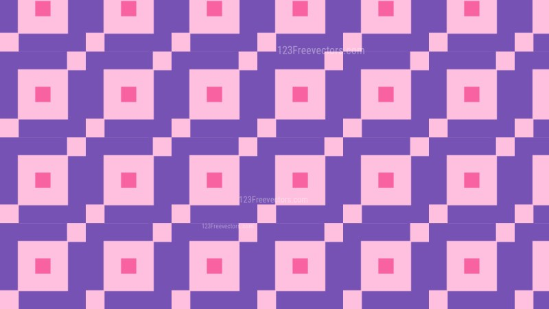 Purple Geometric Square Pattern Background Graphic