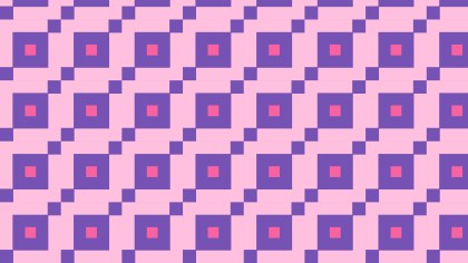 Purple Geometric Square Background Pattern Illustration