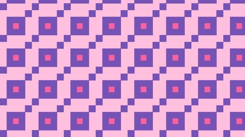 Purple Geometric Square Background Pattern Illustration