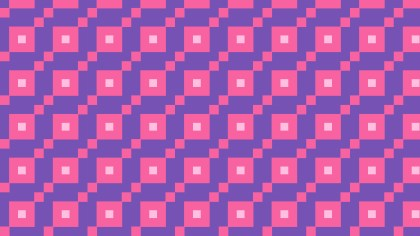 Purple Seamless Square Pattern Design