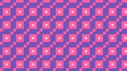 Purple Seamless Square Pattern Design