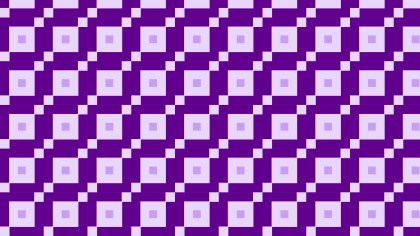 Purple Seamless Geometric Square Pattern Vector Image