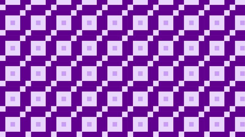 Purple Seamless Geometric Square Pattern Vector Image