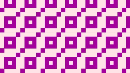 Purple Seamless Geometric Square Pattern Background Illustrator