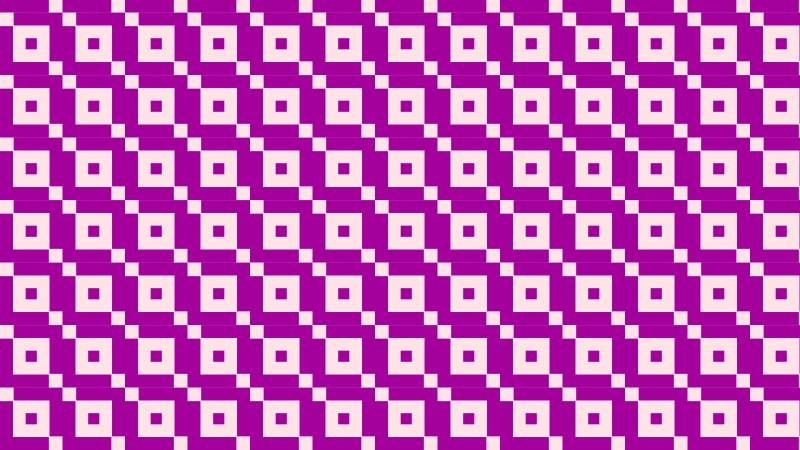 Purple Seamless Geometric Square Background Pattern Vector Illustration