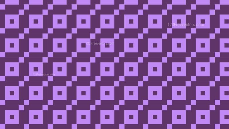 Purple Square Pattern