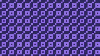 Indigo Geometric Square Pattern