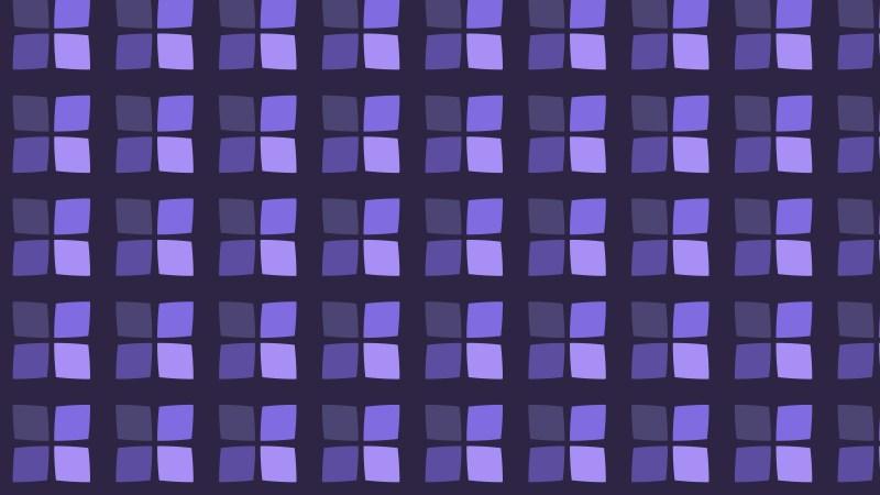 Indigo Seamless Square Pattern Background