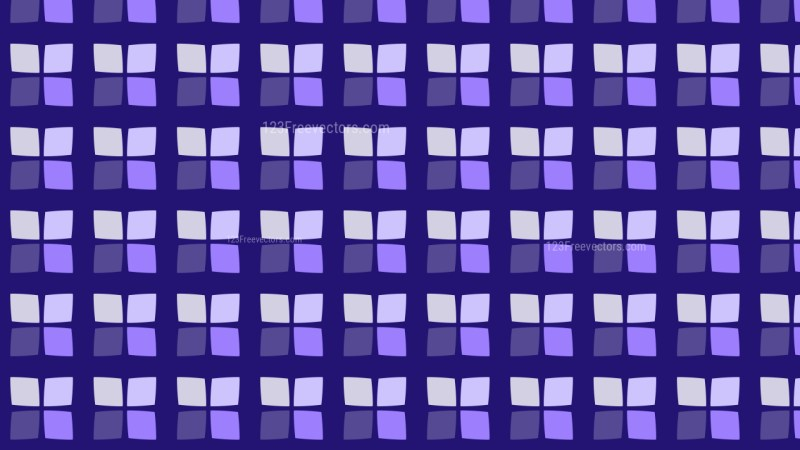 Purple Seamless Square Background Pattern