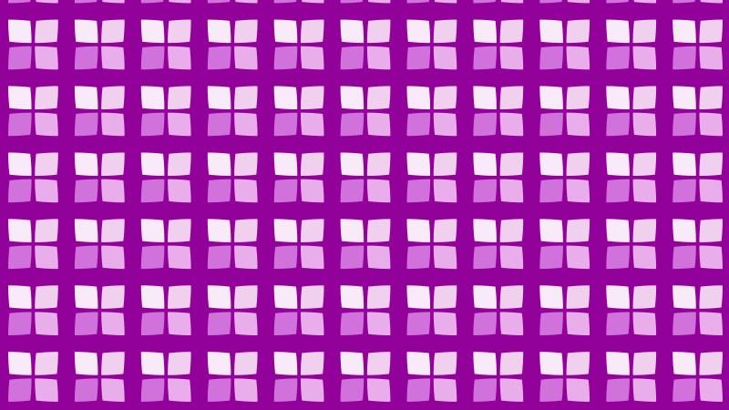 Purple Seamless Geometric Square Pattern