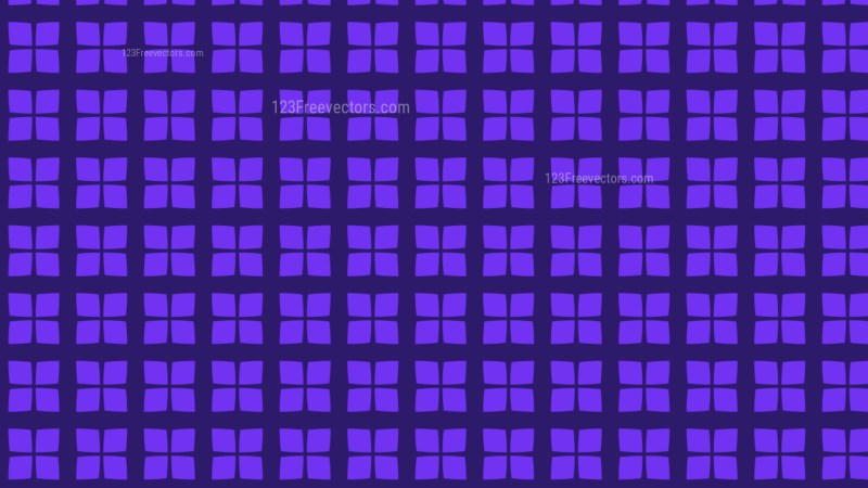 Violet Square Pattern Graphic