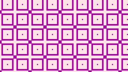 Purple Geometric Square Pattern Image