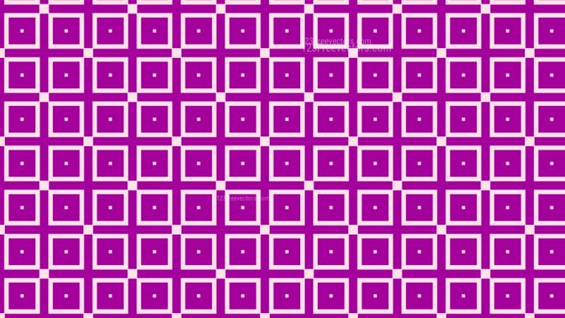 Purple Geometric Square Pattern Background Vector Graphic