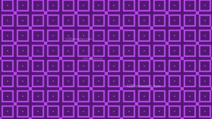 Purple Seamless Square Background Pattern Vector