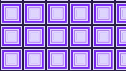 Purple Concentric Squares Pattern