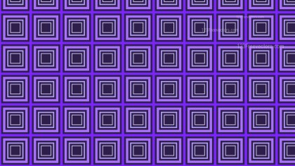 Indigo Concentric Squares Background Pattern