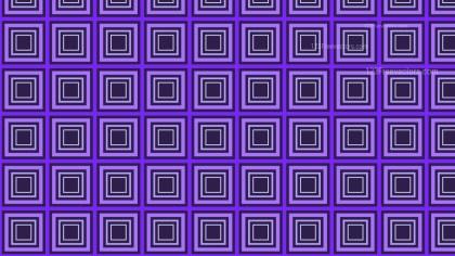 Indigo Concentric Squares Background Pattern