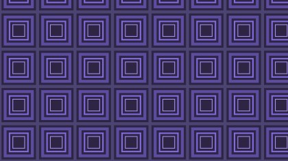 Indigo Seamless Concentric Squares Pattern