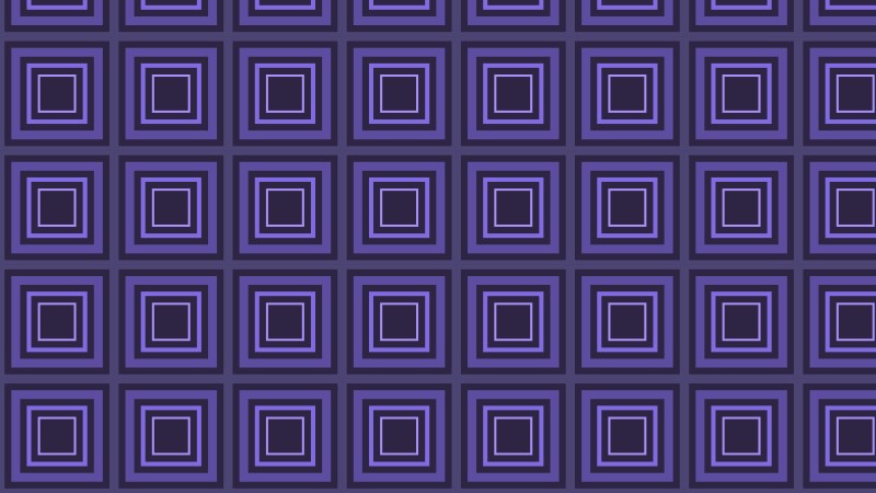 Indigo Seamless Concentric Squares Pattern