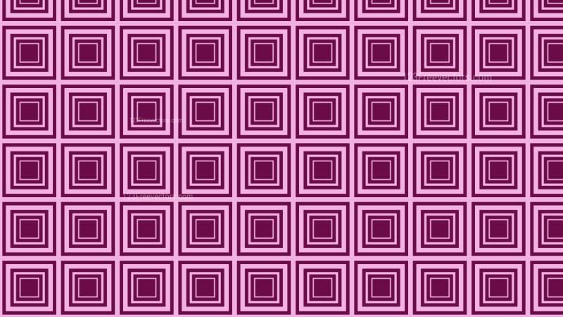 Purple Concentric Squares Pattern Illustrator