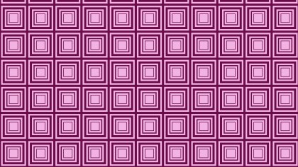Purple Concentric Squares Pattern Background Vector Illustration