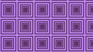Purple Seamless Concentric Squares Pattern Background Graphic