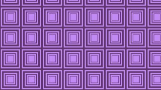 Purple Seamless Concentric Squares Background Pattern Illustration