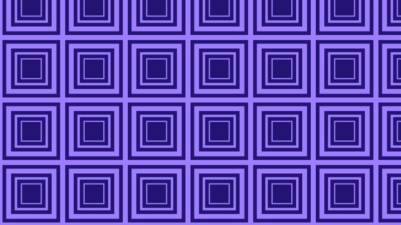 Indigo Concentric Squares Pattern