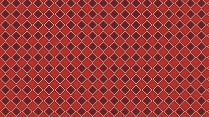 Dark Red Seamless Square Pattern Background