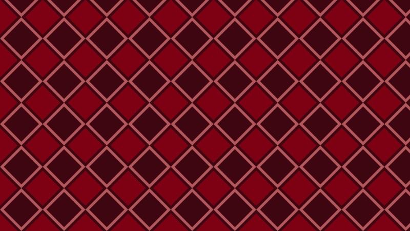 Dark Red Seamless Square Background Pattern