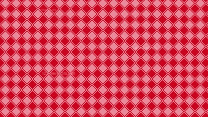 Red Square Pattern Background Vector Image
