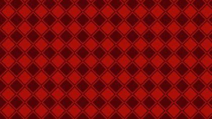 Dark Red Geometric Square Pattern Vector Illustration
