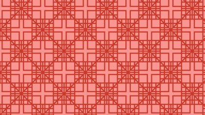 Red Seamless Square Pattern Background Illustration