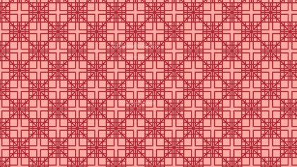 Red Seamless Geometric Square Pattern Image