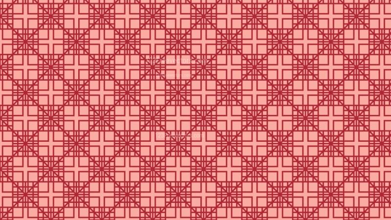 Red Seamless Geometric Square Pattern Image