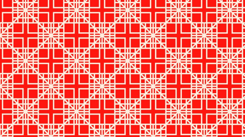 Red Square Background Pattern