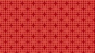 Red Seamless Square Pattern