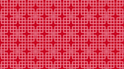 Red Seamless Square Background Pattern