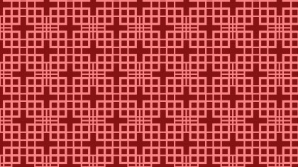 Red Seamless Geometric Square Pattern Background
