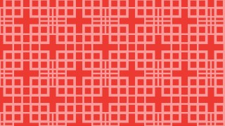 Red Square Pattern Vector