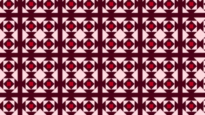 Dark Red Geometric Square Pattern Illustration