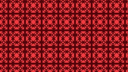 Dark Red Seamless Geometric Square Background Pattern Vector Art