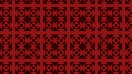 Dark Red Square Pattern