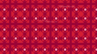 Red Square Pattern Background