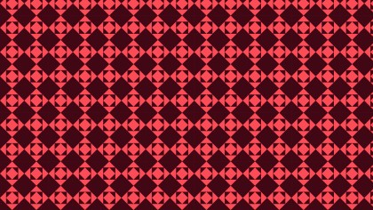 Dark Red Geometric Square Pattern