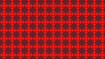 Dark Red Seamless Square Background Pattern