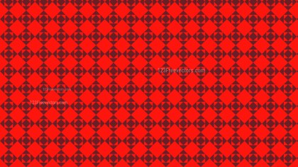 Red Seamless Geometric Square Pattern